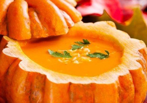 La soupe à la citrouille